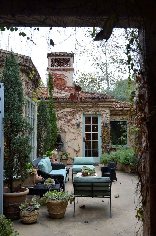 patina porch - outdoor garden