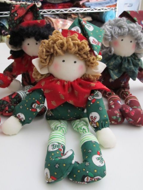 Christmas Elf pattern...Make Believe, by Jenny Wren Ltd.