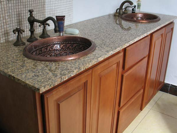 Find This Pin And More On Bathroom Ideas By Dkil709. Bronze Faucets Bathrom  Double Sink ...