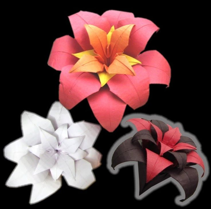 Easy step-by-step tutorial on how to make: Origami Flower. Subscribe to my youtube channel or pinterest to receive weekly notifications on new Origami Tutorials by: German R.Fernandez