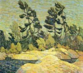 Tom Thomson (group of seven)  'Summer Shore Georgian Bay'