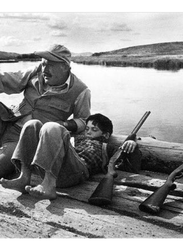 Hemingway & son.