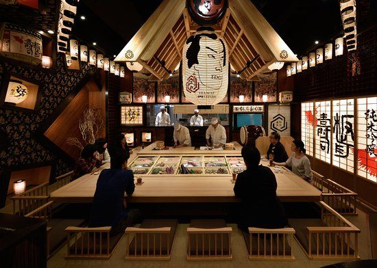 Itamae Sushi Edo Restaurant Tokyo, Japan
