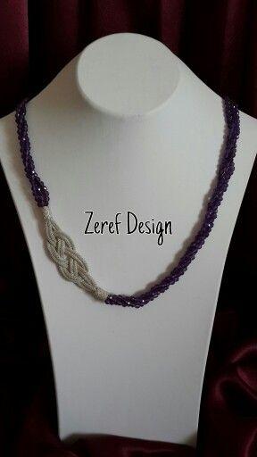 Kazaziye#gümüş#doğal#taş#amatist#kolye#tasarım#1000#ayar