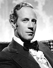"Leslie Howard-- (born Leslie Howard Steiner, 1893-1943) was an English stage and film actor, director, and producer. Probably best remembered for playing Ashley Wilkes in Gone with the Wind (1939), he also appeared in Berkeley Square (1933), Of Human Bondage (1934), The Scarlet Pimpernel (1934), The Petrified Forest (1936), Pygmalion (1938), Intermezzo (1939), ""Pimpernel"" Smith (1941) and The First of the Few (1942)."