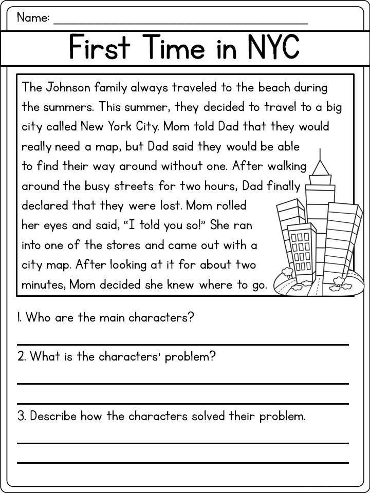 Reading Comprehension Worksheets Best Coloring Pages For Kids Reading Comprehension Worksheets Comprehension Worksheets Reading Comprehension For Kids 2nd grade reading comp worksheets