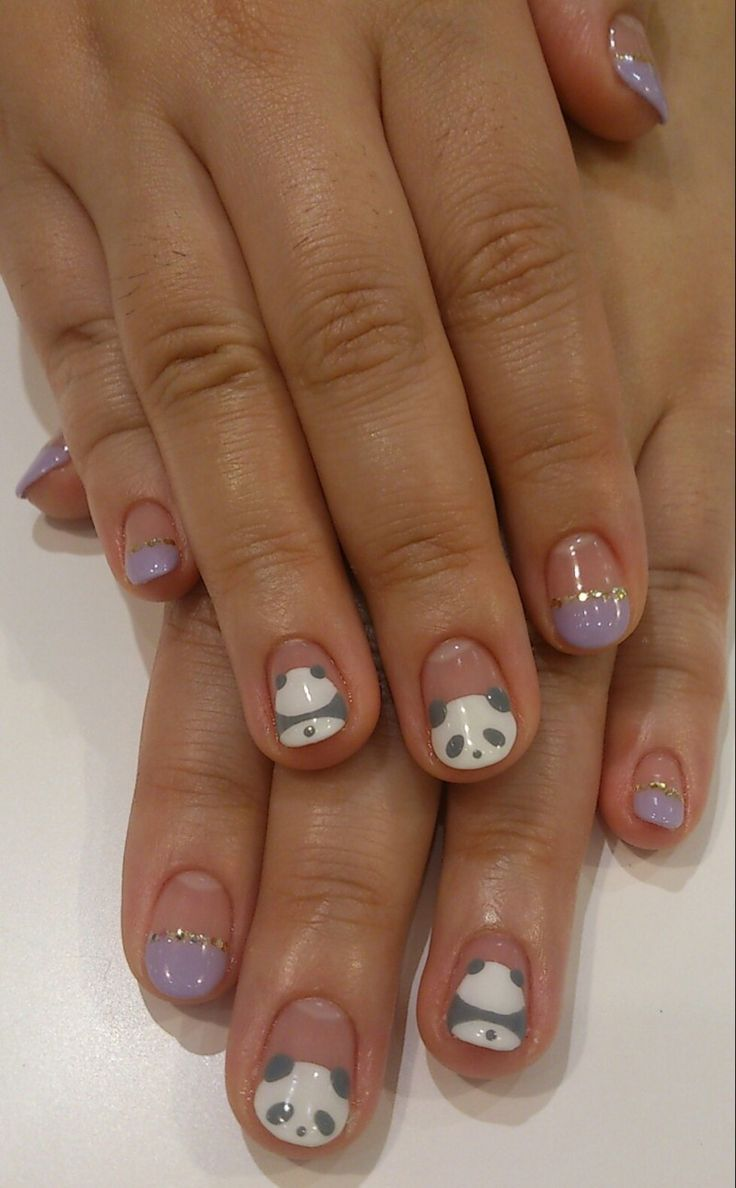 Best 25 panda bear nails ideas on pinterest panda nail art my image via panda nail art designs image via how to create cute panda nail art image via panda nails image via nail art water decals transfers sticker lovely prinsesfo Images