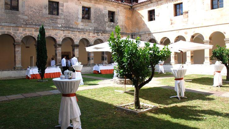 Catering El Jardín, del Balneario de Puente Viesgo  #catering #santander #congresos #bodas #aperitivos www.balneariodepuenteviesgo.com