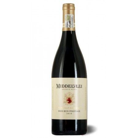 Free-Run #Pinotage #Middelvlei #Jahrgang 2014, trockener #Rotwein aus #Stellenbosch #Südafrika. Passt perfekt zu #Fleisch. #Weinkultur #Weingenuss #Weinkenner