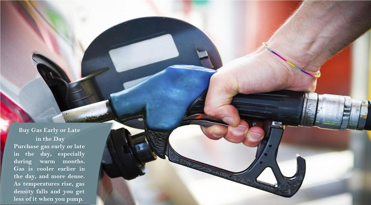 Fill your tanks in the morning The best time of day to fill up your tank is early in the morning. Fuel is more dense at a cooler temperature. It expands and contracts 1% for every 15-degree change in temperature. #studdedtires