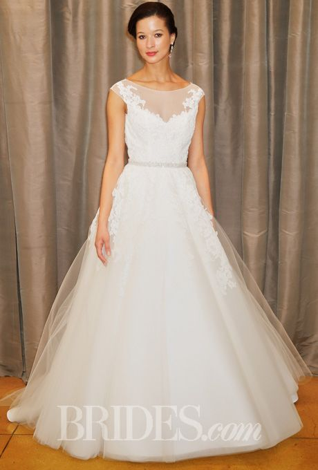 Brides.com: Judd Waddell - Spring 2015%0AWedding dress by Judd WaddellPhoto: John Aquino