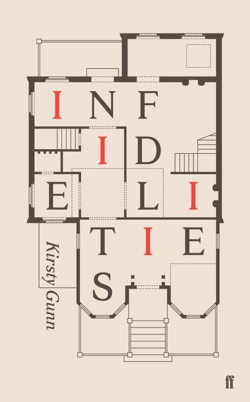 Infidelities by Kirsty Gunn | 32 Of The Most Beautiful Book Covers Of 2014