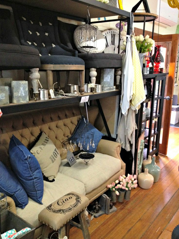 Beautiful furniture for your home at The Wooden Door Mildura  Ross and Mark, owners of The Wooden Door Cafe have amazing taste and their shop always looks beautiful. So much to take in!