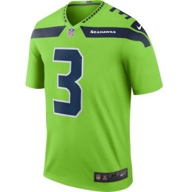 Nike Men's Color Rush 2016 Seattle Seahawks Russell Wilson #3 Legend Game Jersey | DICK'S Sporting Goods