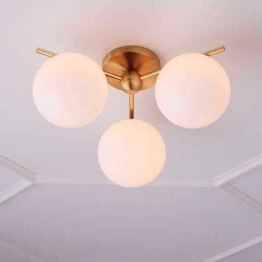 Best Modern Flush-Mount Ceiling Light Fixtures | Apartment Therapy & Best 25+ Bathroom ceiling light fixtures ideas on Pinterest ... azcodes.com