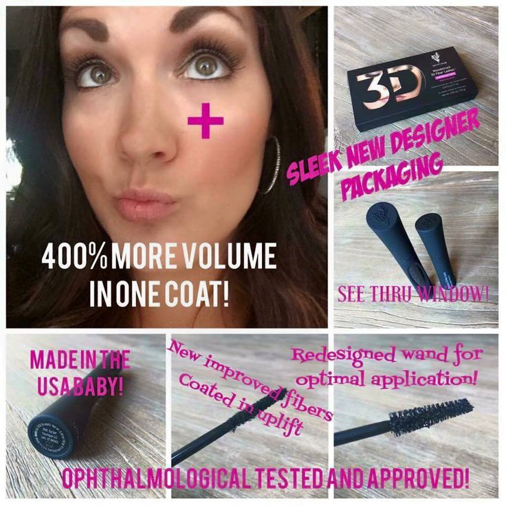 Younique 3D+ mascara. Even better than the original....same great ...