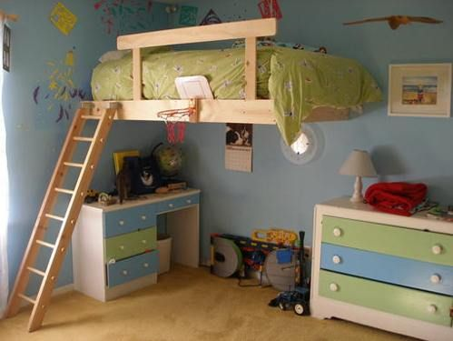 1000 ideas about kid loft beds on pinterest kids bunk beds bunk beds with stairs and diy. Black Bedroom Furniture Sets. Home Design Ideas