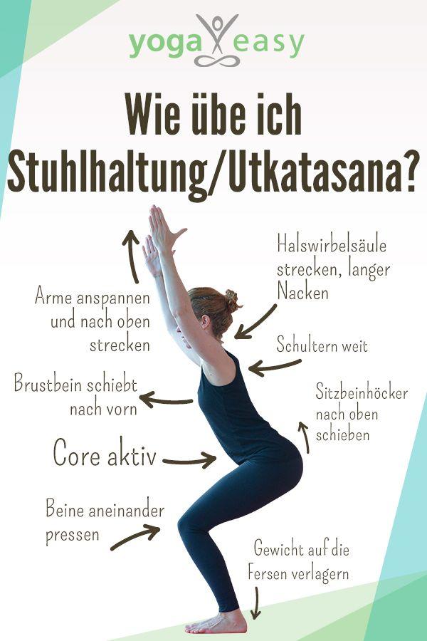 Asana des Monats: Utkatasana – der Stuhl – YogaEasy – dein Online-Yogastudio