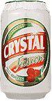 Cerveja Crystal Fusion Guaraná, estilo Fruit Beer, produzida por Cervejaria Petrópolis, Brasil. 3.6% ABV de álcool.
