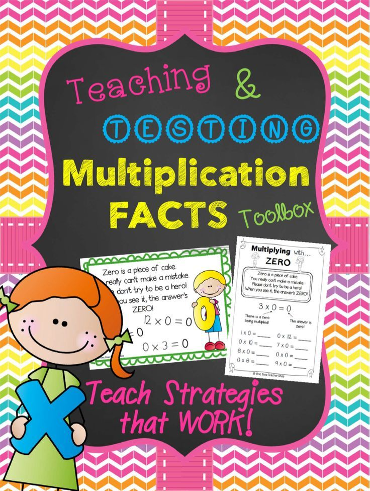 Teach your students effective STRATEGIES for solving Multiplication Facts! Strategy Posters, Student Notes & Practice Sheets, Flashcards, Quizzes, Tests, Progress Monitoring Tools! Paid
