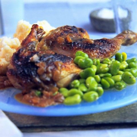 Phil Vickery's Grilled Guinea Fowl with Limes - Woman And Home