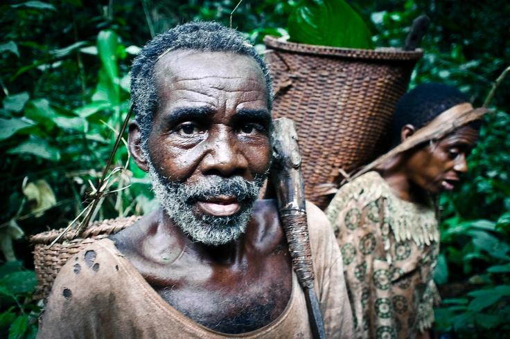 Onja, Baka pygmy elder - Central Africa Republic