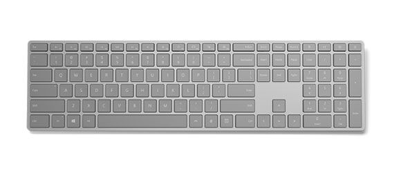 Microsoft、指紋認証センサー付きBluetoothキーボード発売へ