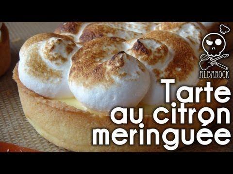 Recette Tarte au citron meringuée - Recette pâte sablée - facile - pâtisserie - dessert - Albarock