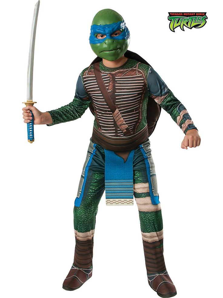 boys teenage mutant ninja turtles leonardo costume tv and movie costumes - Teenage Mutant Ninja Turtles Halloween Costumes For Kids