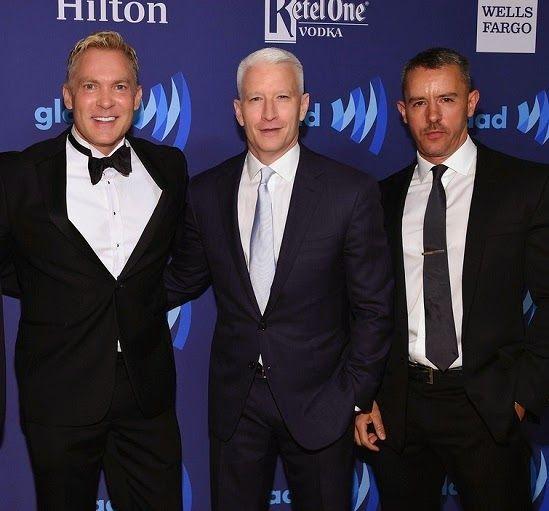 VJBrendan.com: Sam Champion, Anderson Cooper & partner Benjamin Maisani