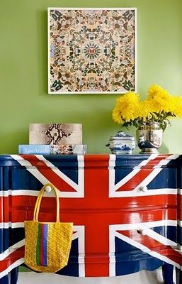 LOVE this dresser!!!: Teen Bedrooms, Daughters Rooms, Boys Rooms, Paintings Dressers, Unionjack, London Call, Jack O'Connel, Chest Of Drawers, Union Jack Dressers