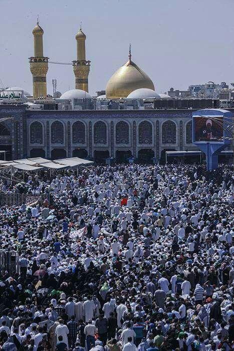 #Arafat day in #Karbala #ImamHussain #muharram countdown #zulhijjah