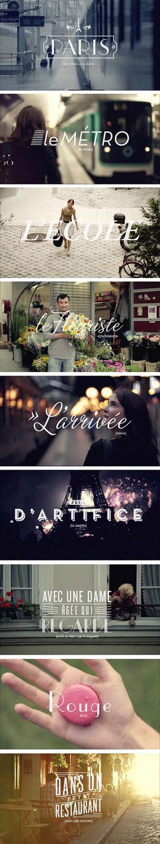 """""""isn't it funny how type can be associated with a place. like these below – cleverly matched with parisian photos – the fonts are all inspired by life in paris – some are more literal, while others are more about the romantic aura paris exudes."""" ~ ellenlaux"""