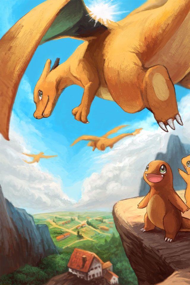 Pokemon artwork wallpaper dracaufeu salameche video game - Pokemon dracaufeu x ...