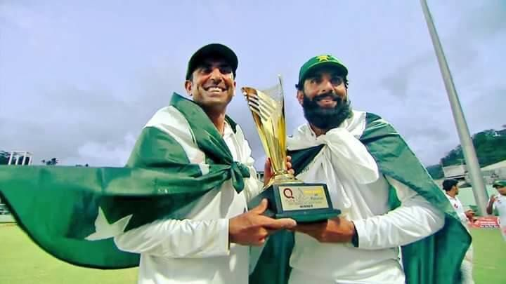 Congratulations to #Misbah & #Younis for their great achievements for #Pakistan & for retiring with a grace & dignity that few #sportsmen are blessed with. #MisYou #PakVsWI #BeGeneric Message From Team Generic Planet