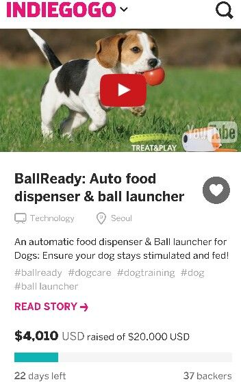 https://www.indiegogo.com/projects/ballready-auto-food-dispenser-ball-launcher/x/13052717#/