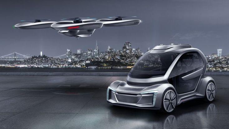 Audi, Airbus and ItalDesign create flying car concept