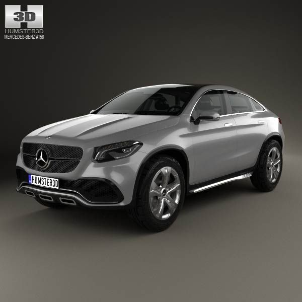Mercedes-Benz Coupe SUV 2014 3d model from humster3d.com. Price: $75