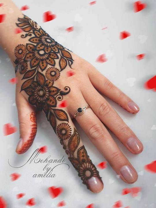 Mehndi Designs Modern : Hands modern henna designs biseworld pinterest