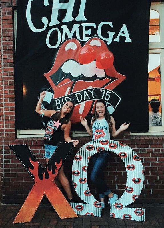 Chi Omega at University of Oregon