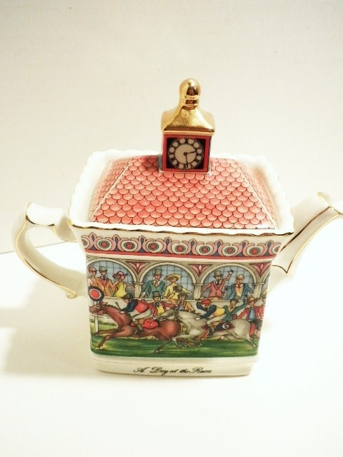 "English Sadler""a day at the races teapot"""