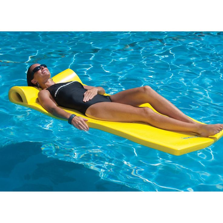 TRC Recreation Sunsation Foam Pool Float - We're not doctors, but we do think that any right-minded medical professional would order a daily dose of pool lounging on this sweet pool flo...