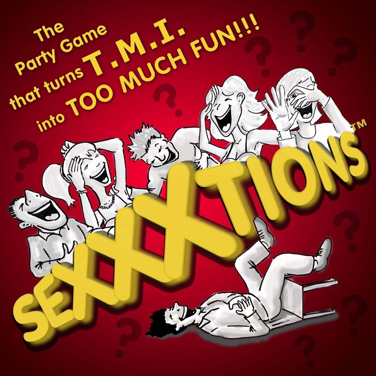 sexxxtions the hilarious new adult party game that turns tmi into too much fun sexxxtions is. Black Bedroom Furniture Sets. Home Design Ideas