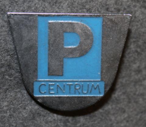 P Centrum, parking house monitor.
