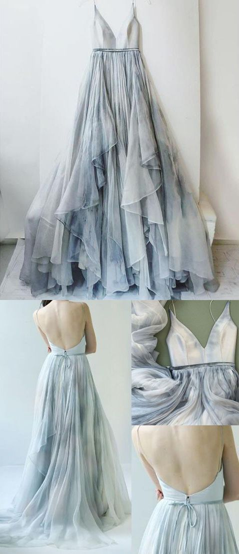 47a19a78e5dd long prom dresses,v neck prom dresses,spaghetti straps prom dresses,ombre prom  gowns,tiered chiffon prom gowns,backless prom dresses,open back prom gowns  ...