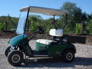 #GolfCartHandel - EZGO TXT mit Ladebox - Gebrauchtfahrzeug Baujahr 2007 Golf Cart / Golfcar bei uns nur 2899,- € #elektrofahrzeug #golfplatz #golfen #freizeit #amazing #fun #camping #golfcart #golfcar #golfauto #golfwagen