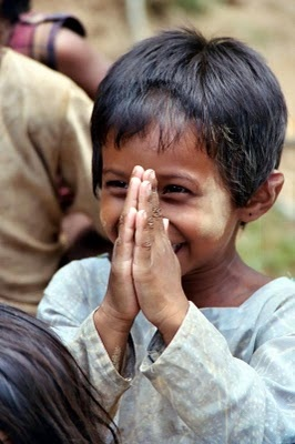 Happiness for everyone, if only for a moment, the world deserves it.