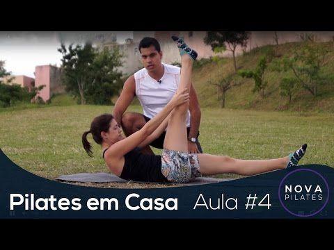 Pilates em Casa - Aula Nº4 - NÍVEL INICIANTE - YouTube
