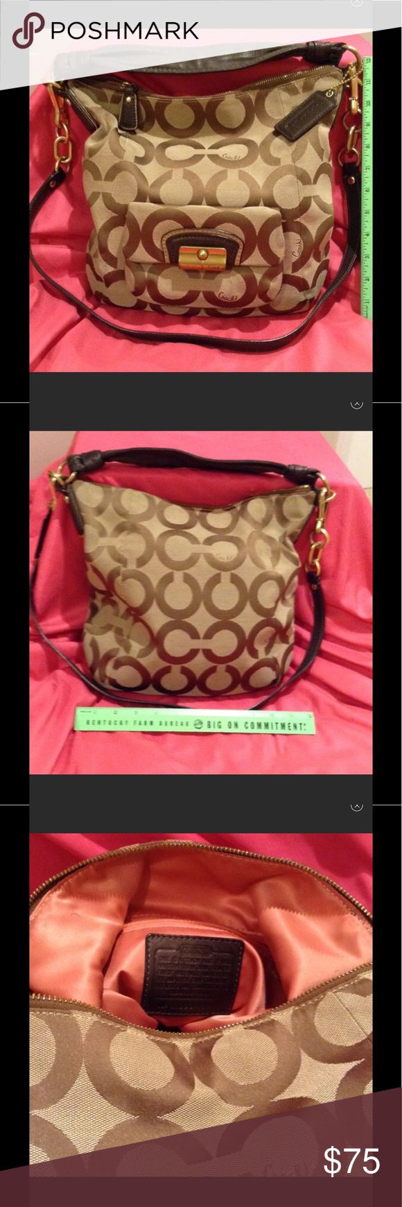 Coach shoulder bag in great condition. Beautiful bag with extra strap it is excellent condition. Coach Bags Satchels