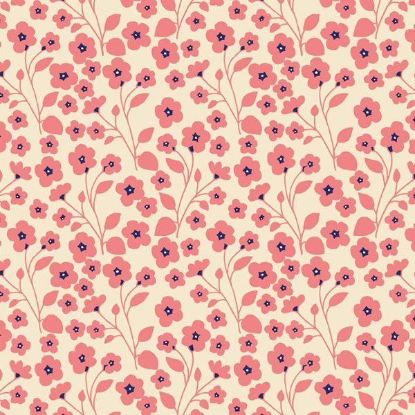Alice Potter. Flowers pattern. Estampado de flores. http://perfectodia.blogspot.com.es